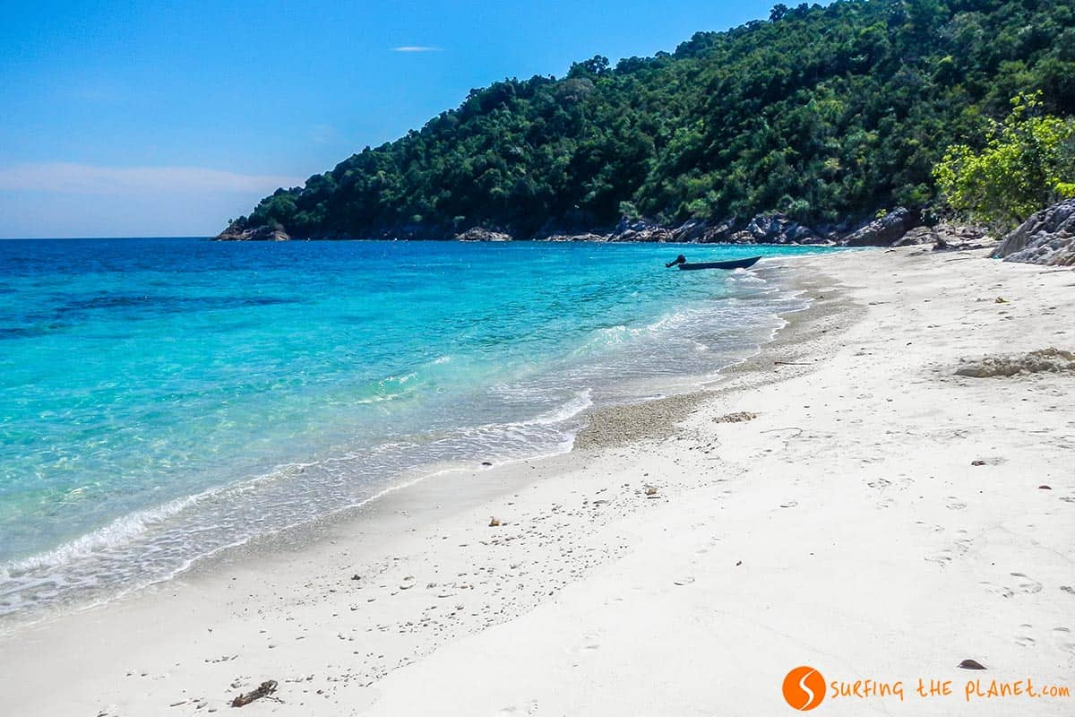 Romantic Beach, Isla Perhentian, Malasia