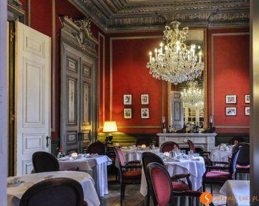 restaurante Le Mystique, hotel Heritage, Brujas