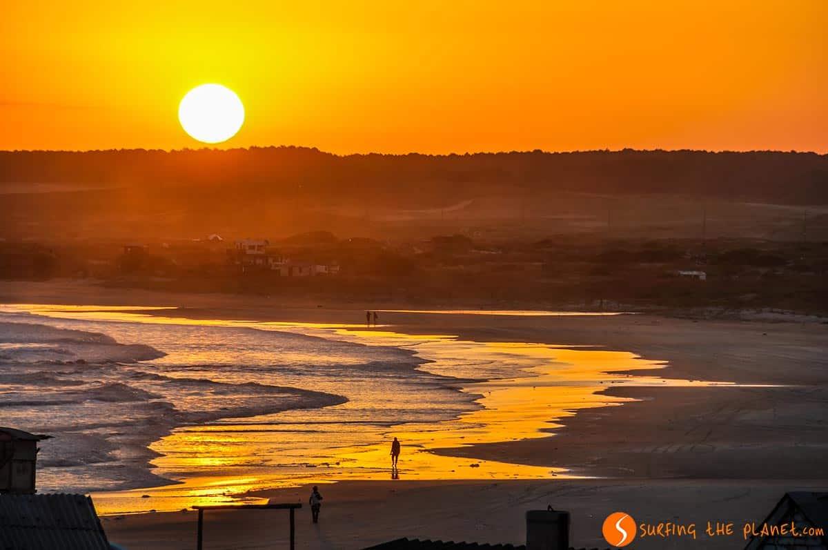 Sunset in Cabo Polonio, Uruguay