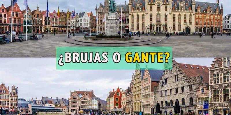 Brujas o Gante, Belgica