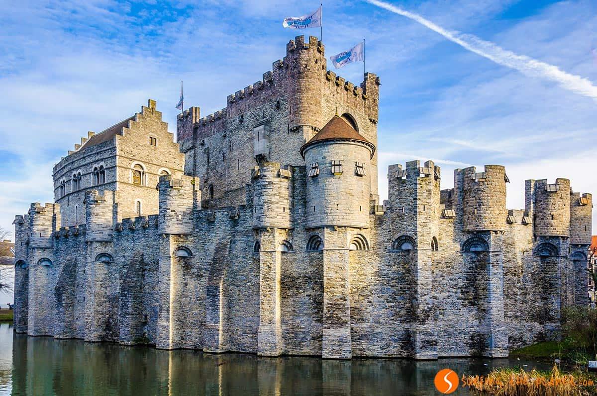 Castillo de los Condes, Gante, Belgica
