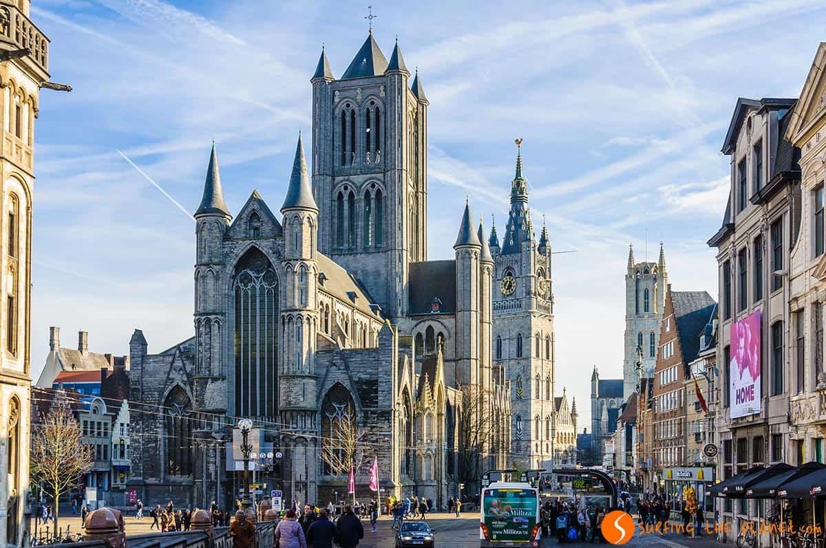 Las 3 torres, Gante, Belgica