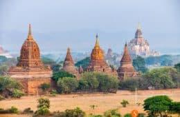 Templos, Bagan, Myanmar