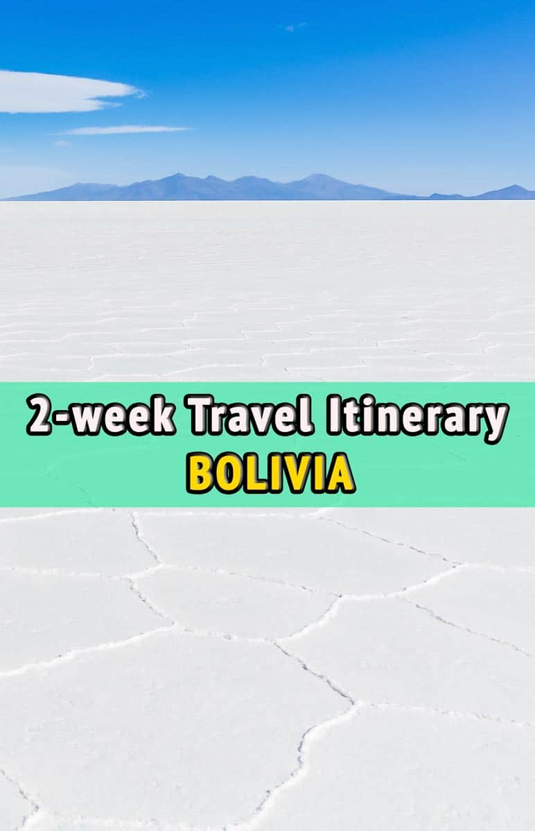 Travel itinerary, Bolivia
