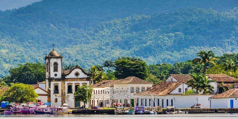 Ciudad colonial, Paraty, Brasil