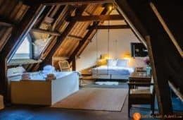 habitación de 5 estrellas, Hotel Lloyd, Amsterdam