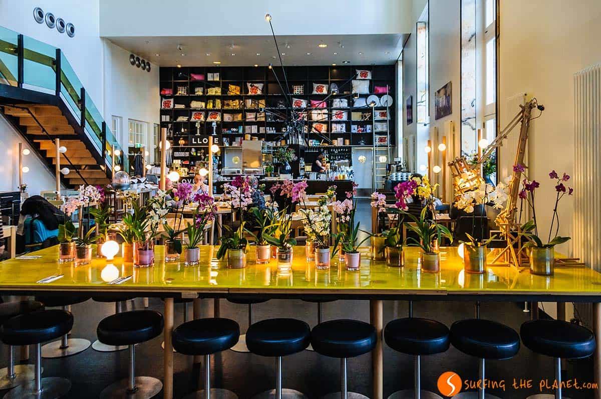 Sala desayuno, Lloyd Hotel, Amsterdam