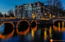 Atardecer, Canales, Amsterdam