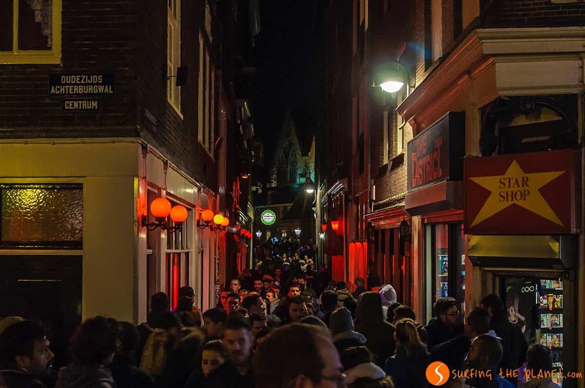 Barrio Rojo, Amsterdam, Holanda | 14 Lugares que visitar en Ámsterdam