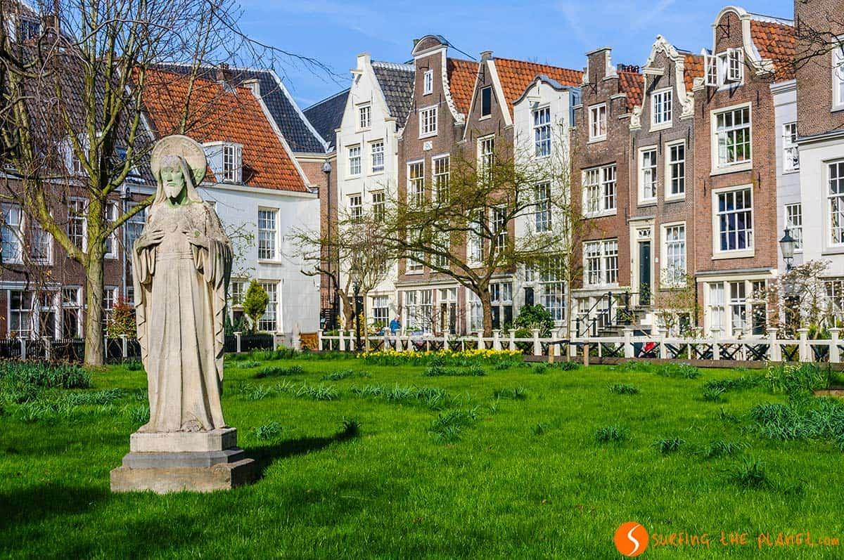 El Begijnhof, Amsterdam, Holanda | Qué ver en Ámsterdam en 2 días