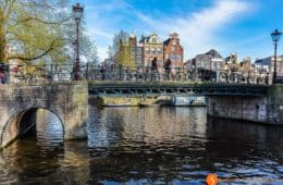 Canales y casas pintorescos, Amsterdam