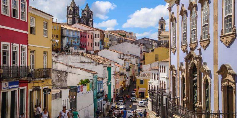 Casco antiguo, Salvador de Bahia, Brasil