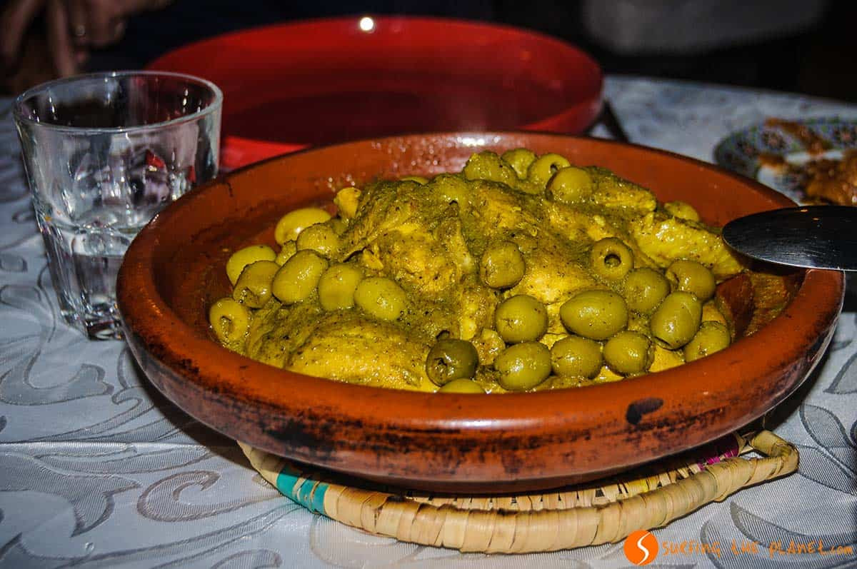 Cena, Riad Mur Akush, Marrakech