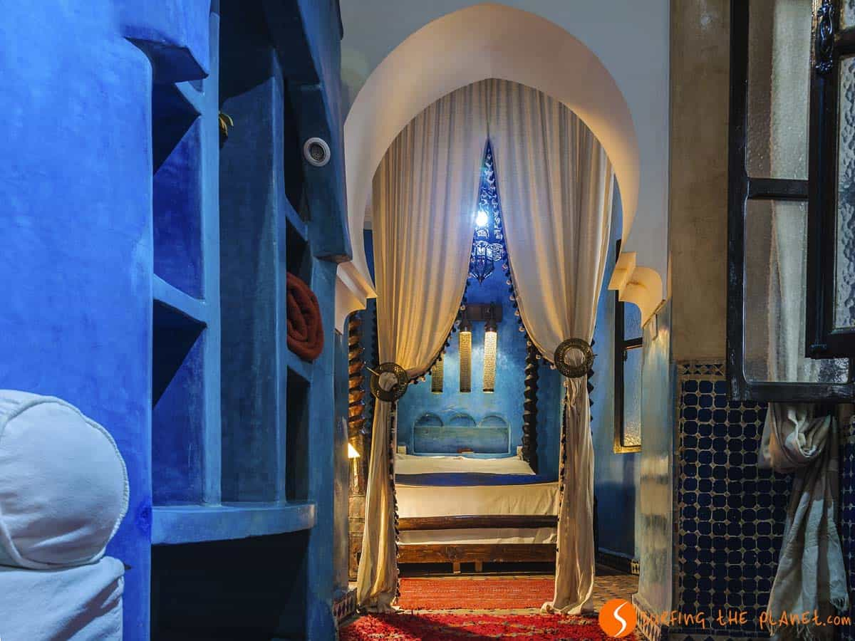 Where to stay in Marrakesh, Bedroom, Riad Mur Akush, Marrakesh