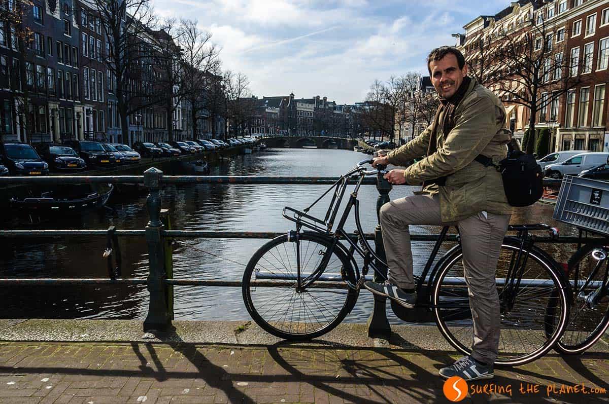 Paseo en bici, Amsterdam