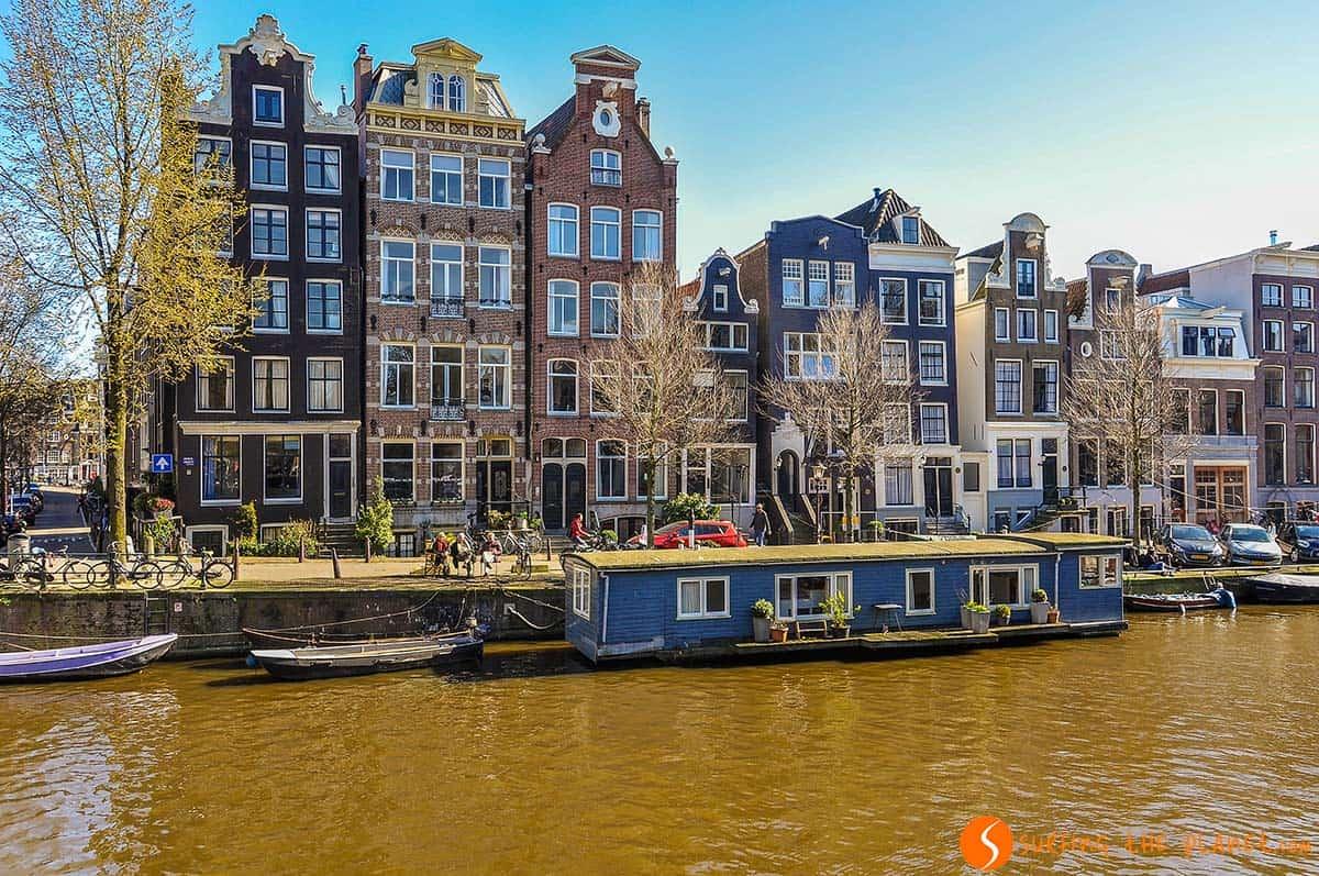 Paseo por canales, Amsterdam, Holanda