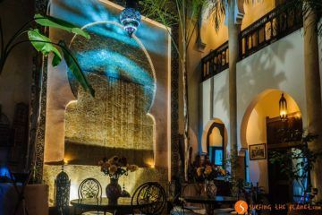 Patio, Riad Mur Akush, Marrakech