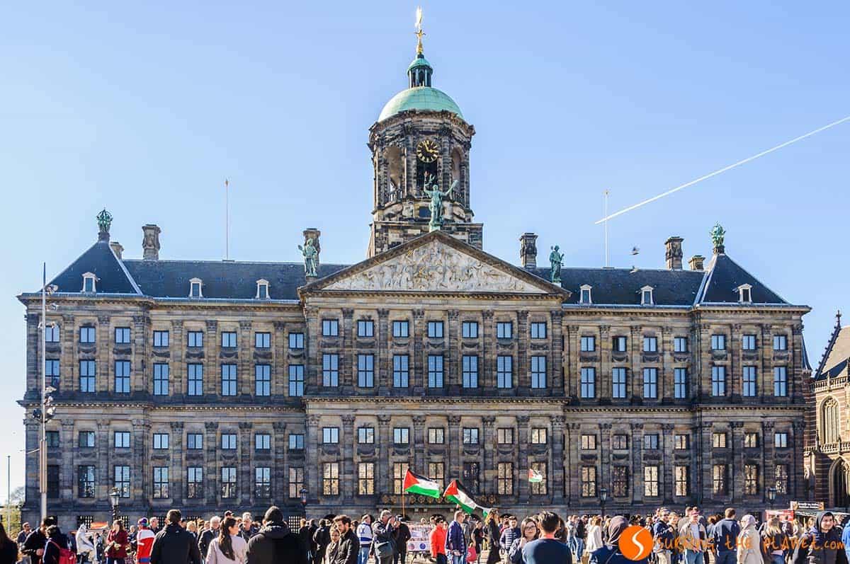 Plaza Dam, Amsterdam, Holanda
