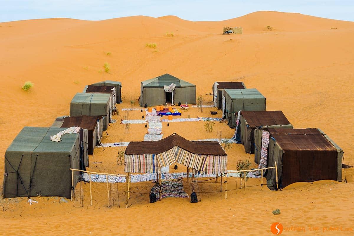 Campsite, Merzouga Desert, Morocco