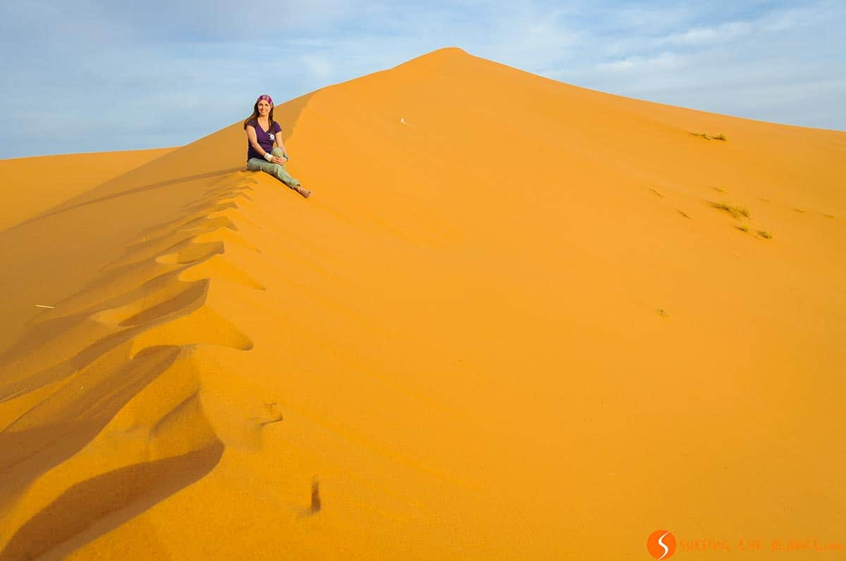 Sunset, Merzouga Desert Tour, Morocco