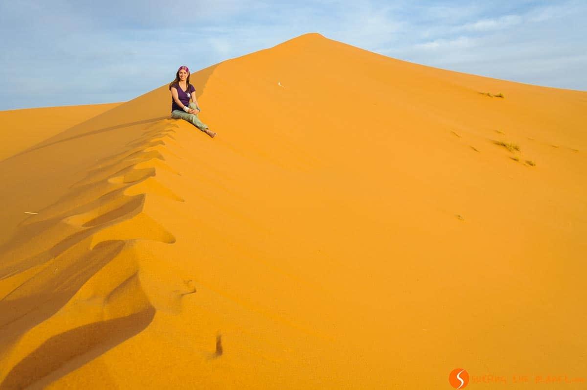 Amanecer, Desierto de Merzouga, Marruecos