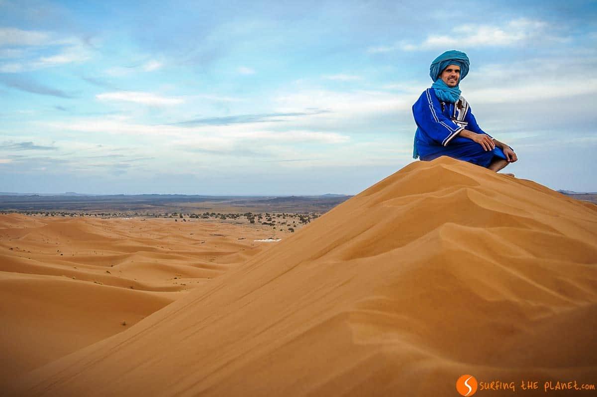 Sunset, Merzouga Desert, Morocco