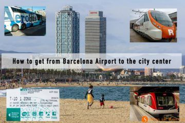How to get from Barcelona Airport to the city center