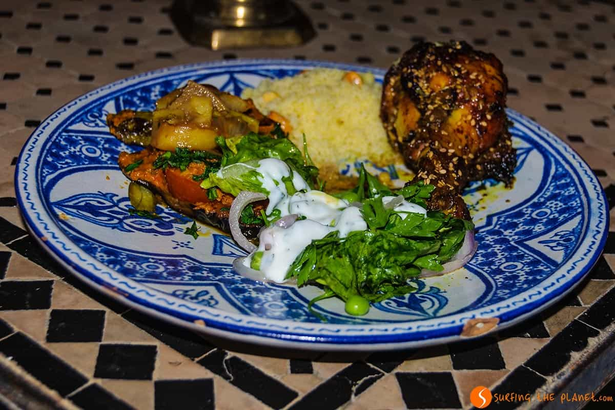Dinner, Dar Seffarine, Fes