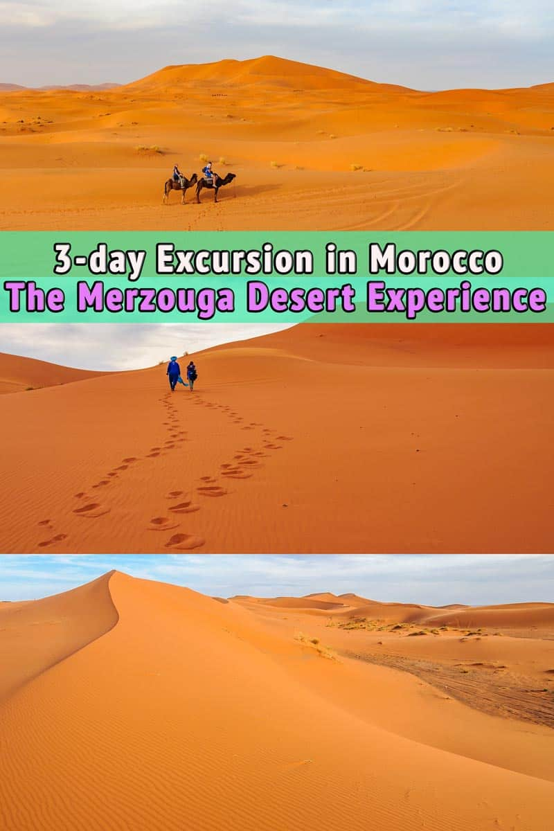 Excursion to Merzouga Desert, Morocco