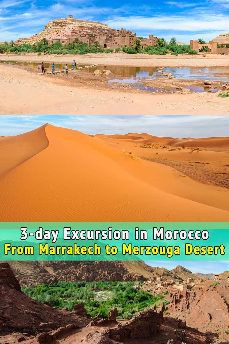 3-day Excursion to Merzouga Desert, Morocco