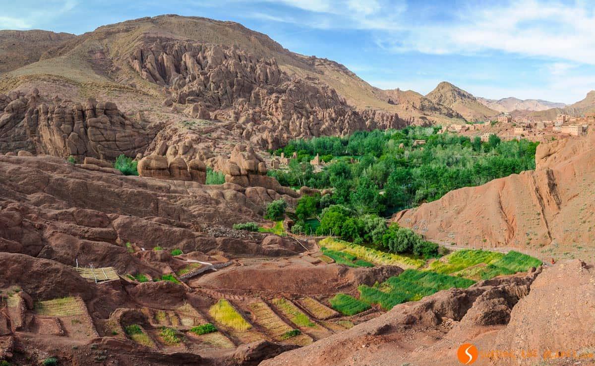 Gargantas del Dades, Marruecos