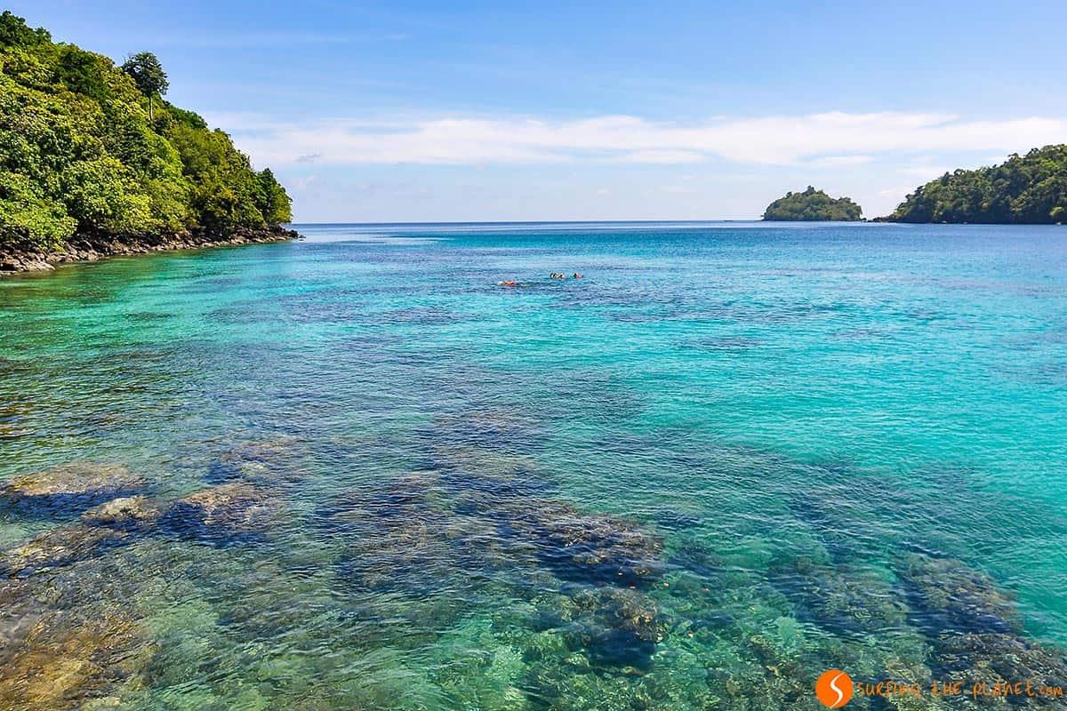 Agua transparente, Pulau Weh, Indonesia | Que ver Indonesia 2 semanas, isla Sumatra