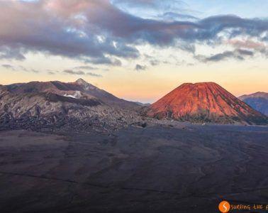 Amanecer en Volcan Bromo, Java, Indonesia