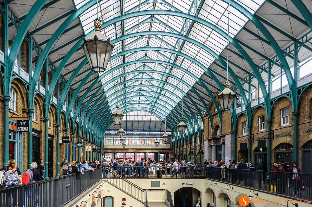 Interior, Covent Gardes, Londres | Fin de semana en Londres