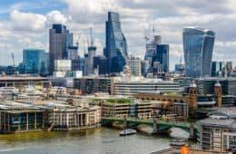 Rascacielos, Barrio de City, Londres