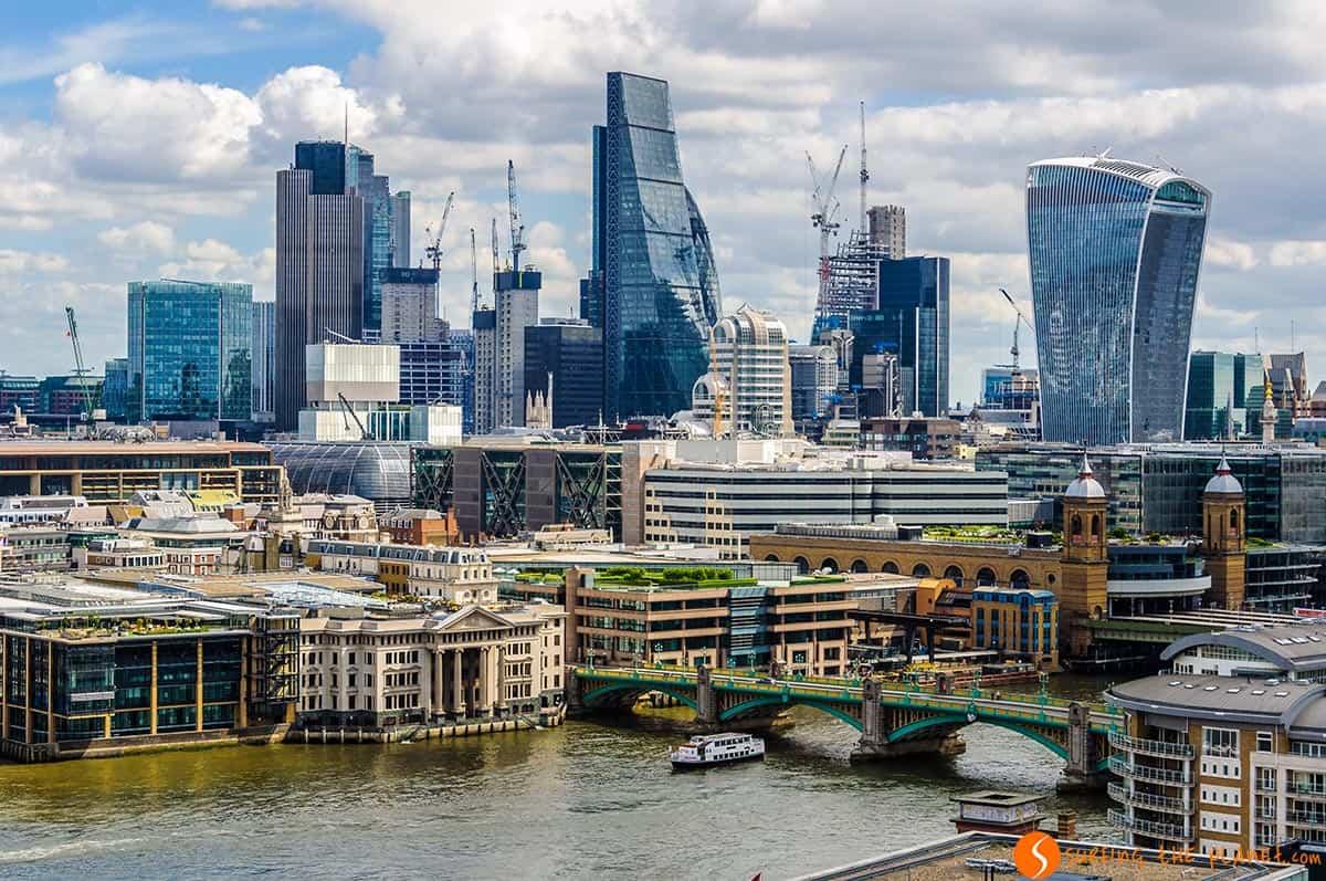 Rascacielos, Barrio de City, Londres | Fin de semana en Londres