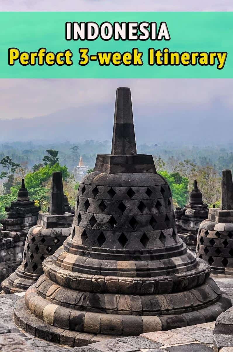 3 Weeks Itinerary in Indonesia