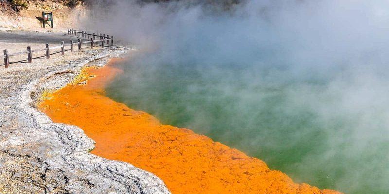 Champange Pool, Rotorua, Nueva Zelanda