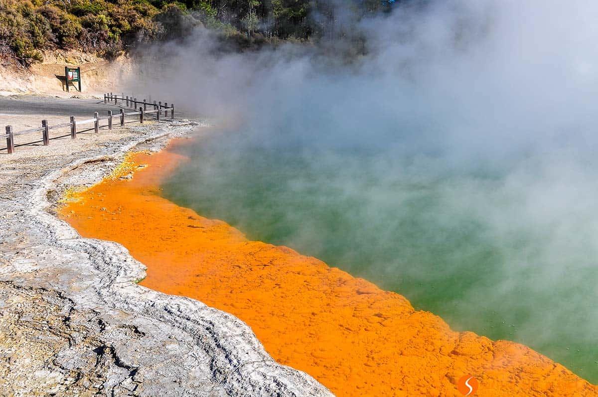 Champange Pool, Rotorua, Nueva Zelanda | Qué ver y hacer en Nueva Zelanda