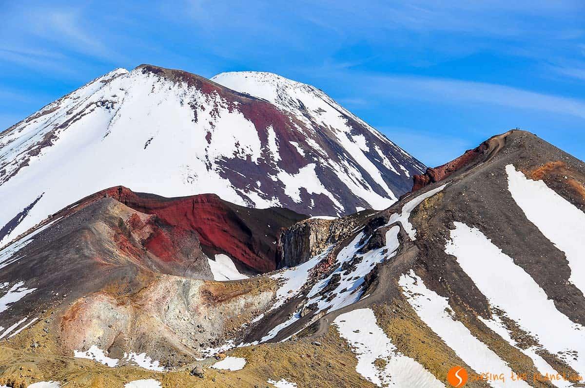 Crater rojo, Tongariro, Nueva Zelanda | Viajar a Nueva Zelanda