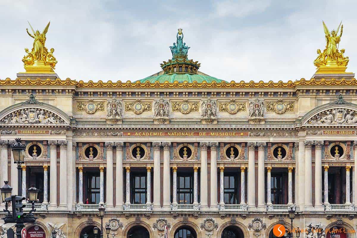 Fachada de la Opera, Paris, Francia | que ver en Paris en 4 días