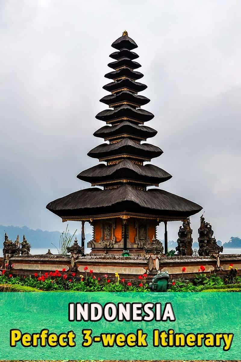 Indonesia in 3 weeks