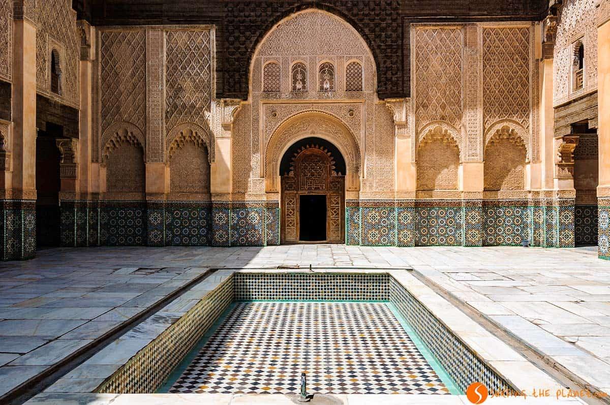 Madraza Ben Youssef, Marrakech, Marruecos