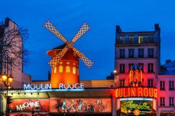 Moulin Rouge, Montmarte, Paris