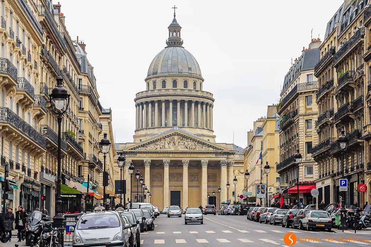 Pantheon, Barrio Latino, Paris, Francia | que visitar en Paris en 4 días