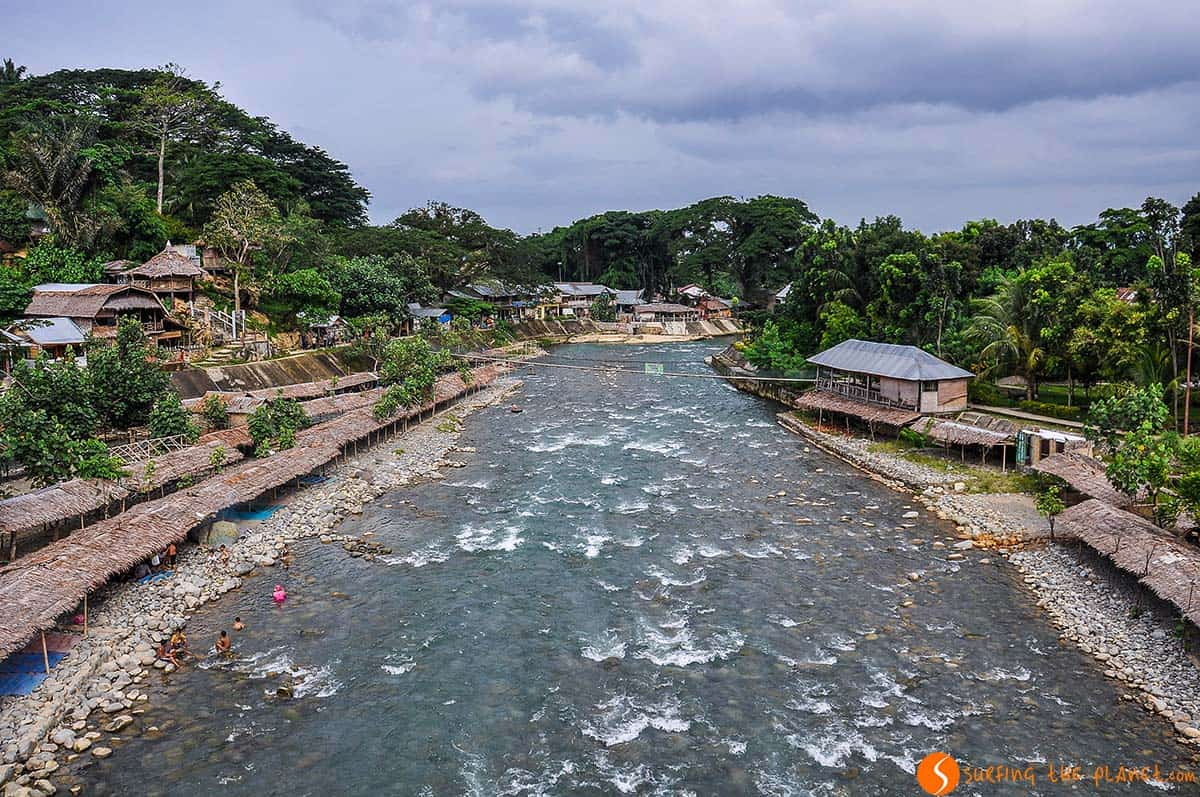 Rio, Bukit Lawang, Sumatra, Indonesia    Que ver Indonesia 2 semanas, isla Sumatra
