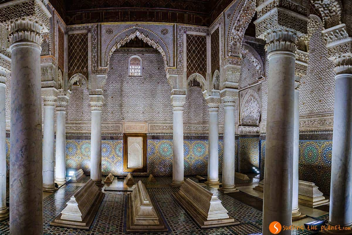 Tumbas Saadies, Marrakech, Marruecos | Viajar a Marruecos