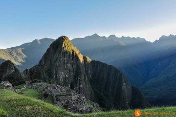 Amanecer, Machu Picchu, Perú