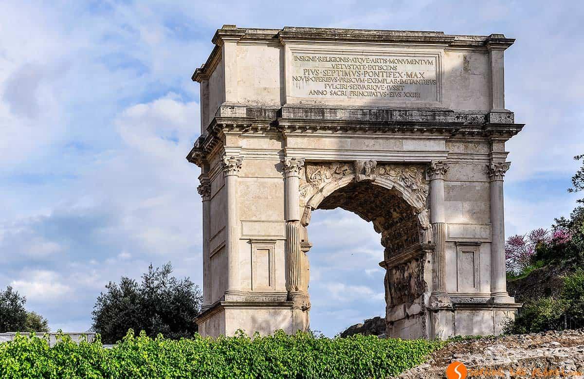 Arco Constantino, Roma, Italia | Que ver en Roma en 4 días
