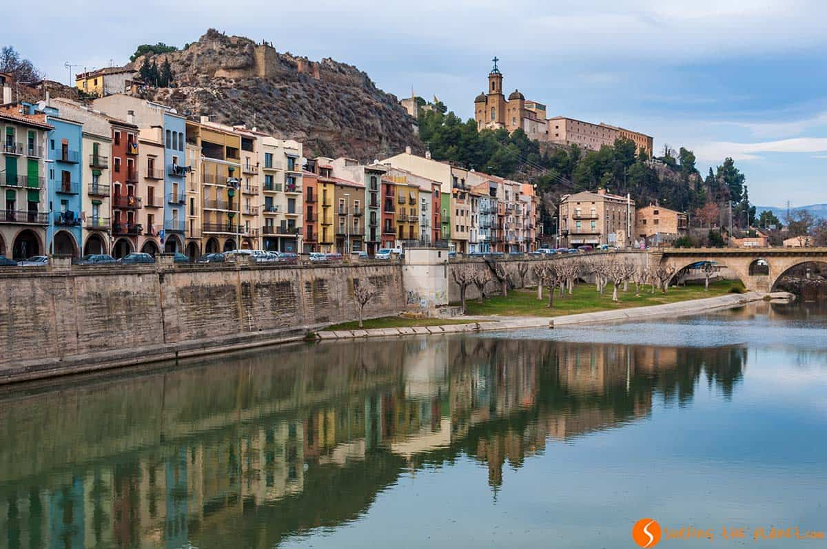 Balaguer from the river | The nicest villages in Catalonia